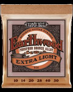 Ernie Ball 2150 Earthwood Extra Light Phosphor Bronze