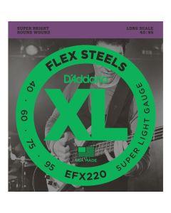 DAddario EFX220 Flex Steel