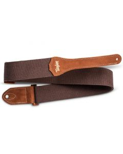 Taylor GS Mini Strap, Chocolate Brown Cotton, 2""