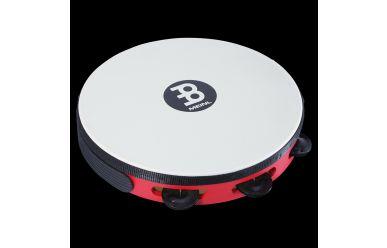 Meinl TAH1BK-R-TF Touring Tambourine schwarze Schellen, Red