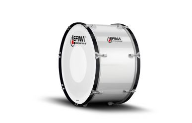"Lefima MB-BUL-2614-2HH Große Trommel 26x14"" Ultra Leicht, weiß"