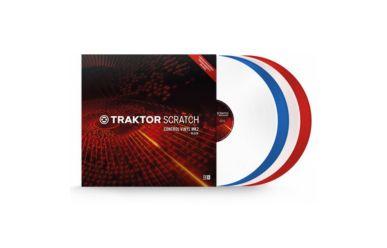 Native Instruments Traktor Scratch Control Vinyl MK2 transparent