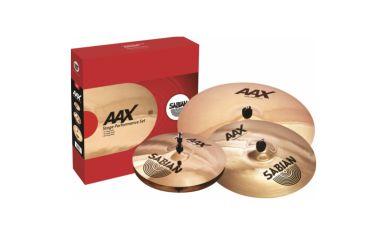 "Sabian AAX Stage Set 14""Hi-Hat/16"" Crash/20""Ride"