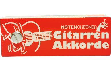 BOE7544  Notenchecker  Gitarren-Akkorde
