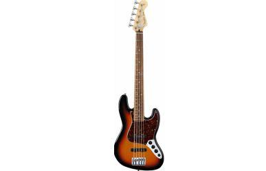 Fender Deluxe Jazz Bass V Active 5-String Brown Sunburst