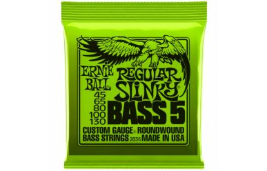 Ernie Ball 2836 Regular Slinky 5-String Bass Nickel Wound