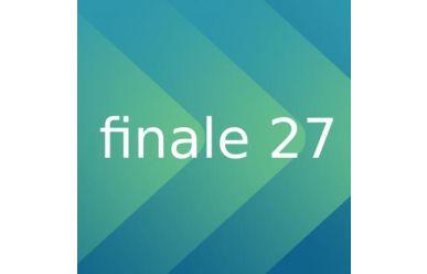 CODA Software Finale V27 Update von Finale 26