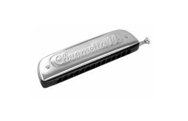 Hohner Mundharmonika Chrometta 14 C 56 Töne