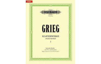 EP3100AA  E.Grieg  Klavierwerke 1 Lyrische Stücke