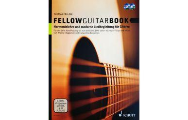 ED20675  Thomas Fellow  Fellow Guitar Book    inkl CD + DVD