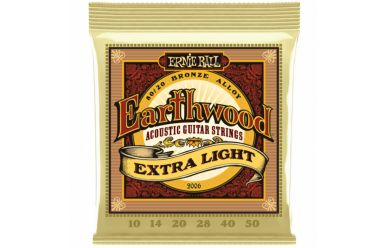 Ernie Ball 2006 Earthwood Extra Light 80/20 Bronze