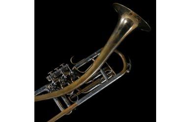 Schagerl Ganschhorn Heavy B-Trompete Goldmessing roh