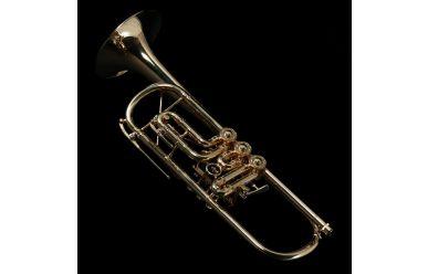 Ricco Kühn Professional T-053/B Goldmessing versilbert + vergoldet 140