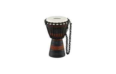 "Nino African Style Wood Djembe Earth Rhythm Design 7"""
