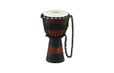 "Nino African Style Wood Djembe Earth Rhythm Design 8"""