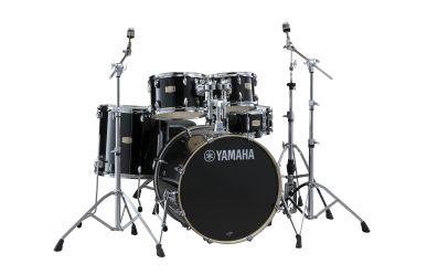 "Yamaha SBP2F5-RBL Stage Custom  22/10/12/16"" Raven Black mit Hardware"