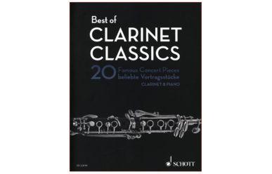 ED22018   Best of Clarinet Classics