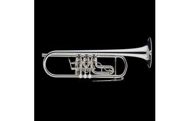 Schagerl Berlin B-Trompete versilbert
