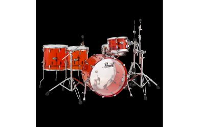 """Pearl Crystal Beat Shellset Ruby Red 22/12/14/16"""""""