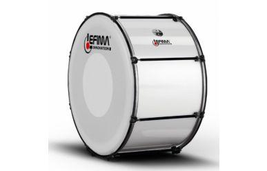 "Lefima MB-BMB2616-2HM Große Trommel 26x16"" CarboBoost, weiss"