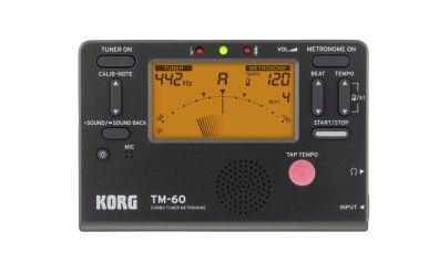 Korg TM-60 BK Stimmgerät und Metronom schwarz
