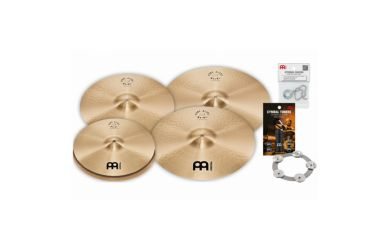"Meinl PA15182022M Meinl Pure Alloy Medium Cymbal Set 15""Hi-Hat/18"" & 20""Crash/22""Ride"