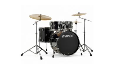 """Sonor AQ1 Stage Drumset 22/10/12/16"""" inkl. Hardware Piano Black"""