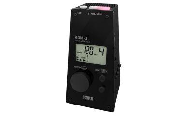 Korg KDM-3 BK Digitales Metronom schwarz