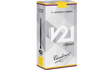 Vandoren Schachtel B-Klarinette V.21 White St. 2,5