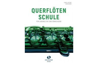 G. Huschka + G. Bähr     Querflötenschule Band 2