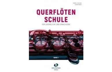 G. Huschka + G. Bähr    Querflötenschule Band 1