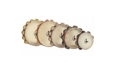 """Lefima KT-018-0010-20E Professional Line Tambourin 10"""", zweireihig"""