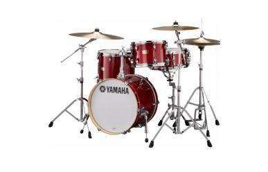 """Yamaha SBP8F3-CR Stage Custom BeBop 18/12/14"""" inkl. Tomarm, Cranberry Red"""