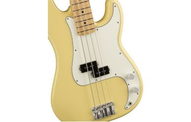 Fender Player Series Precision Bass, Buttercream, Maple Fingerboard