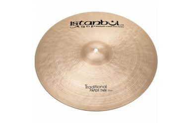"""Istanbul Agop Traditional Paper Thin Crash 18"""""""