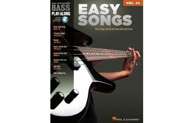Hal Leonard Bass Play-Along Vol.34   Easy Songs