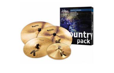 "Zildjian K Serie Box Set Country Pack 15/17/19/20"""