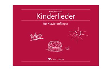 CV18530-00  E.Pallas  Kinderlieder für Klavieranfänger