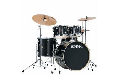 Tama IE50H6W-HBK Imperialstar Drumset Hairline Black