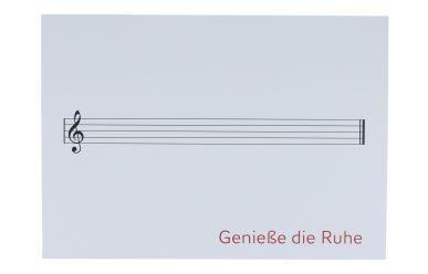 "Kübler 0581KADW Postkarte ""Genieße die Ruhe"""