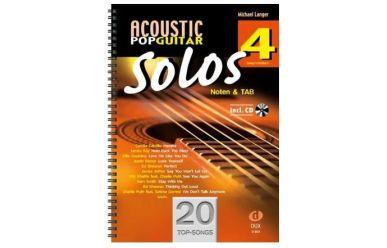 D884 M.Langer   Acoustic Pop Guitar Solos 4