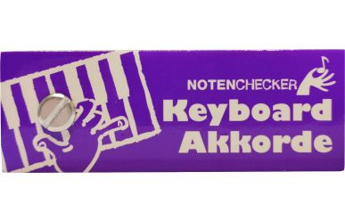 BOE7593  Notenchecker  Keyboard-Akkorde