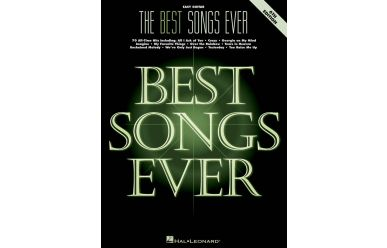 HL265750   The best Songs ever - 6th Edition   Easy Guitar