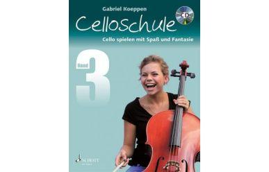 G.Koeppen  Celloschule 3   Cello spielen mit Spaß und Fantasie