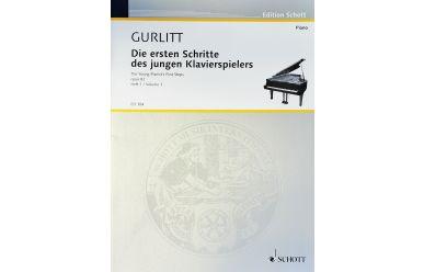 ED384  C. Gurlitt   Die ersten Schritte des jungen Klavierspielers