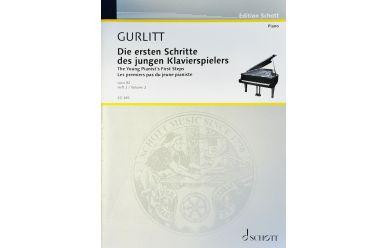 ED385  C. Gurlitt   Die ersten Schritte des jungen Klavierspielers