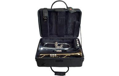 Protec PB-301F Doppelkoffer für Trompete und Flügelhorn