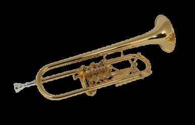 Ricco Kühn Professional T-063/B Goldmessing versilbert + vergoldet 130