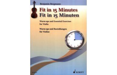 B.Bergmann  Fit in 15 Minuten  Warm-ups und Basisübungen