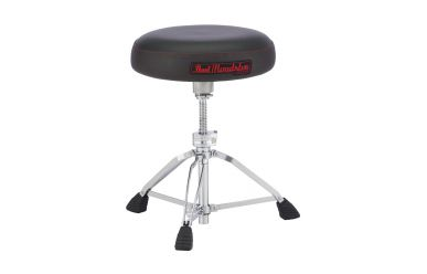 Pearl D-1500S Roadster Drum Throne, Vented Round Seat Type, Low Height